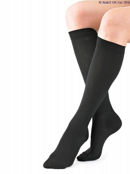 Neo G Travel & Flight Compression Socks - Black - Medium