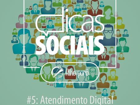 Dicas Sociais #5: Atendimento pelo Facebook