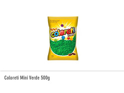 Coloreti Mini Verde 500g
