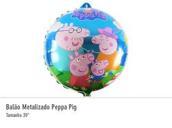 Balão Metalizado Peppa Pig