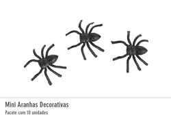 Mini Aranhas Decorativas