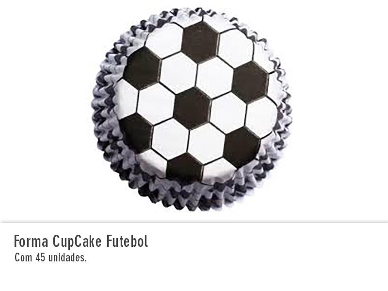 Forma Cupcake Futebol