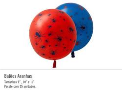 Balão Aranhas