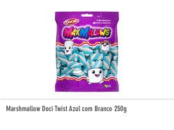 Marshmallow Doci Twist Azul 250g