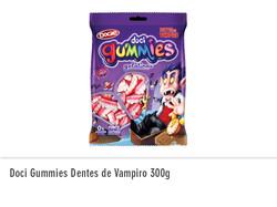 Doci Gummies Dentes de Vampiro 300g