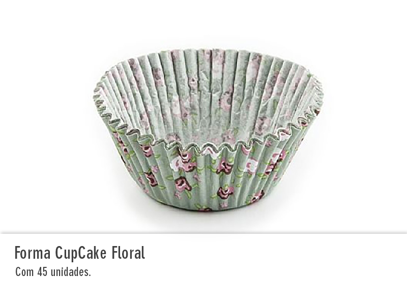 Forma Cupcake Floral