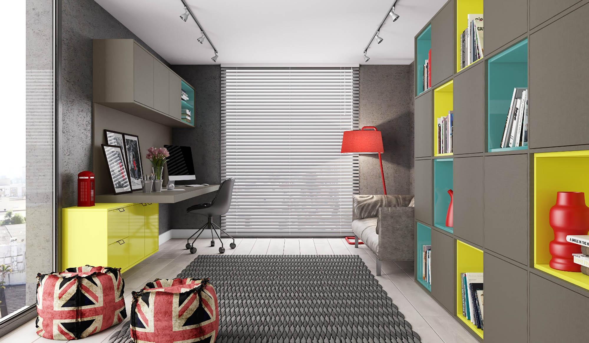 Móveis planejados - Home Office 2
