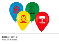 """Balão Avengers 9"""""""