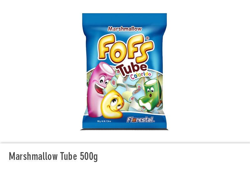 Marshmallow Tube 500g