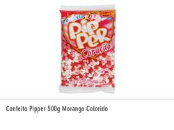 Confeito Pipper 500g Morango