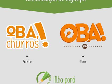 Reestilização de logotipo