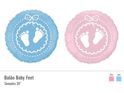 Balão Baby Feet