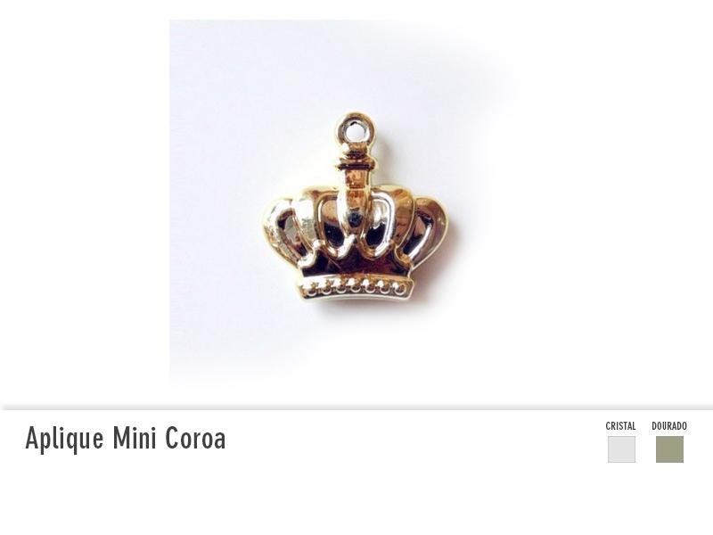 Aplique Mini Coroa