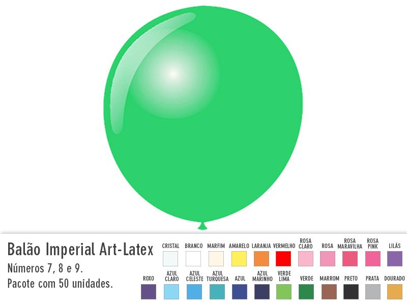 Balão Imperial Art-Latex