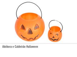 Abóbora e Caldeirão Halloween