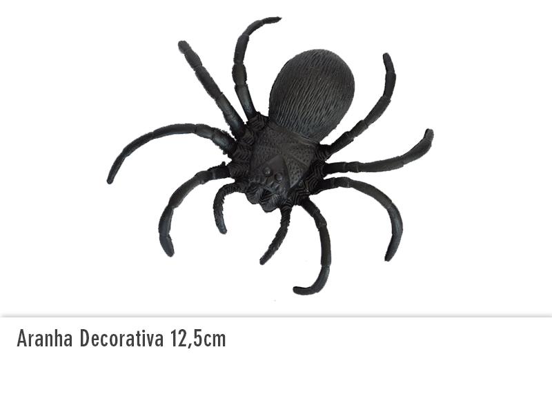 Aranha Decorativa 12,5cm