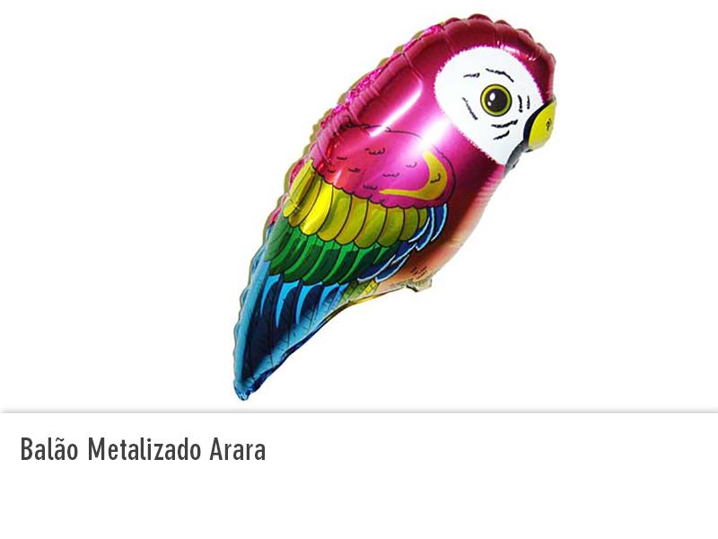 Balão Metalizado Arara