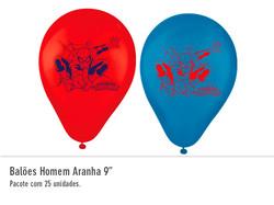 """Balão Homem Aranha 9"""""""