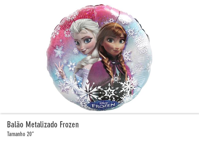 Balão Metalizado Frozen