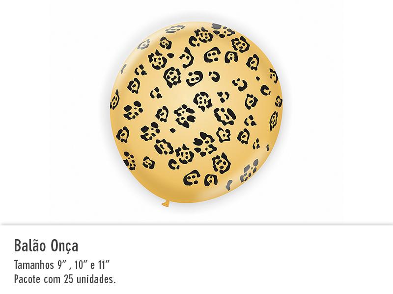 Balão Onça