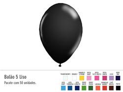 Balão 5 Liso