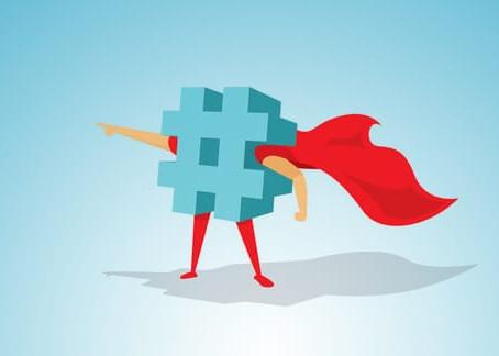 Há regras para o uso de hashtags?