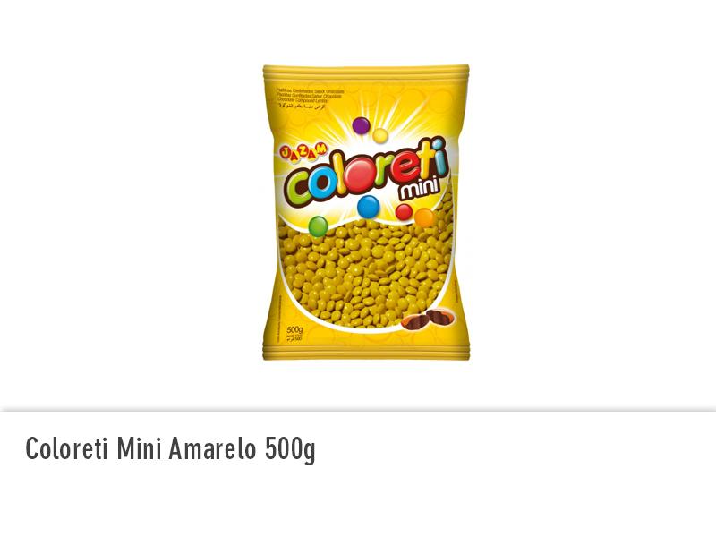 Coloreti Mini Amarelo 500g