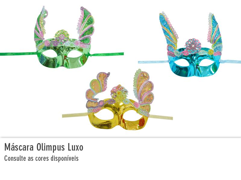 Máscara Olimpus Luxo