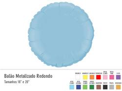 Balão Metalizado Redondo