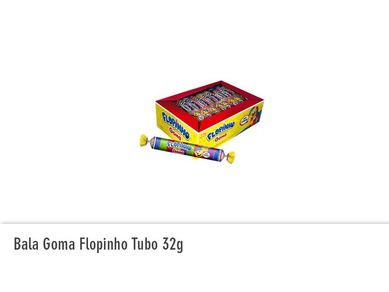 Bala de Goma Flopinho Tubo 32g