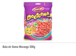 Bala de Goma Morango 500g