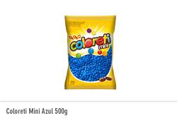 Coloreti Mini Azul 500g