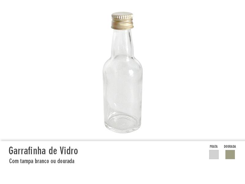 Garrafinha de vidro