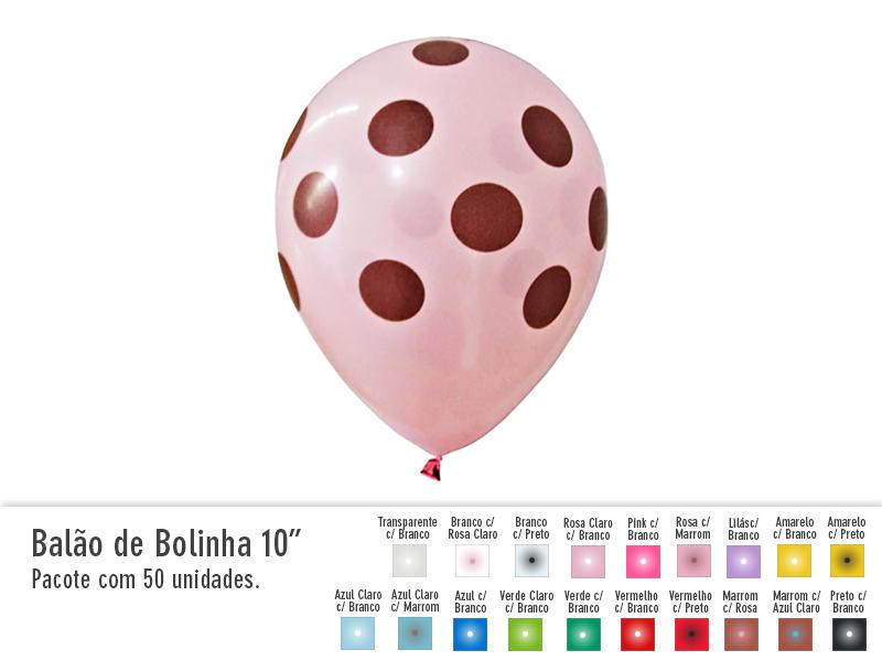 """Balão de Bolinha 10"""""""