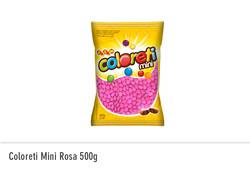 Coloreti Mini Rosa 500g