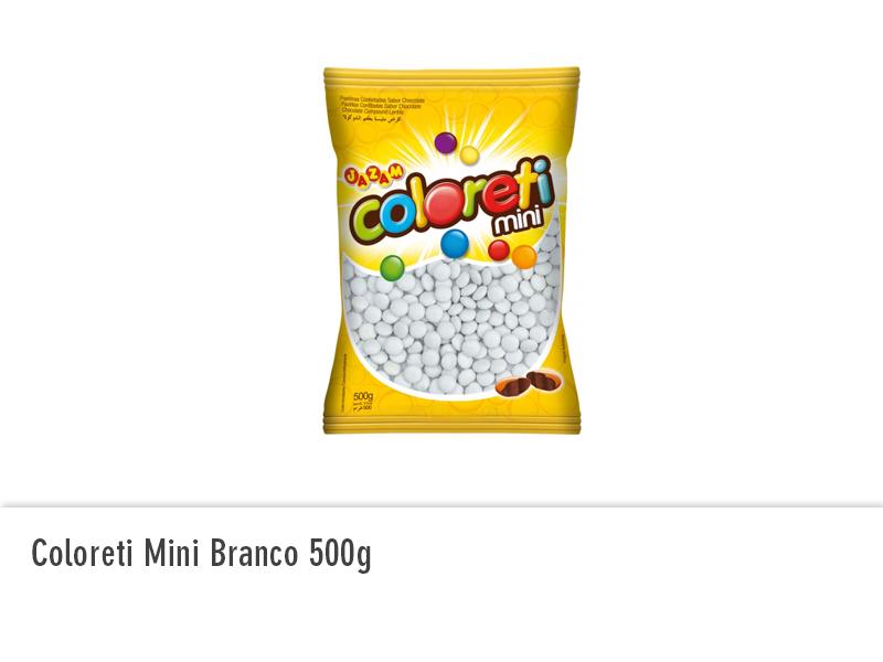 Coloreti Mini Branco 500g
