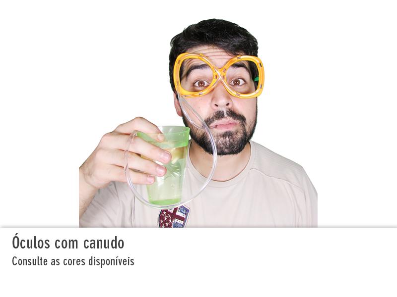 Óculos com Canudo