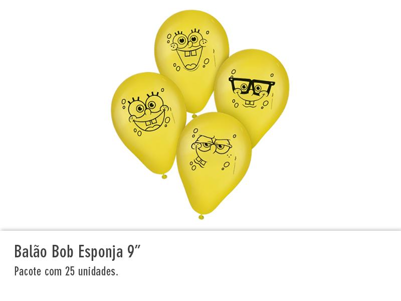 "Balão Bob Esponja 9"""