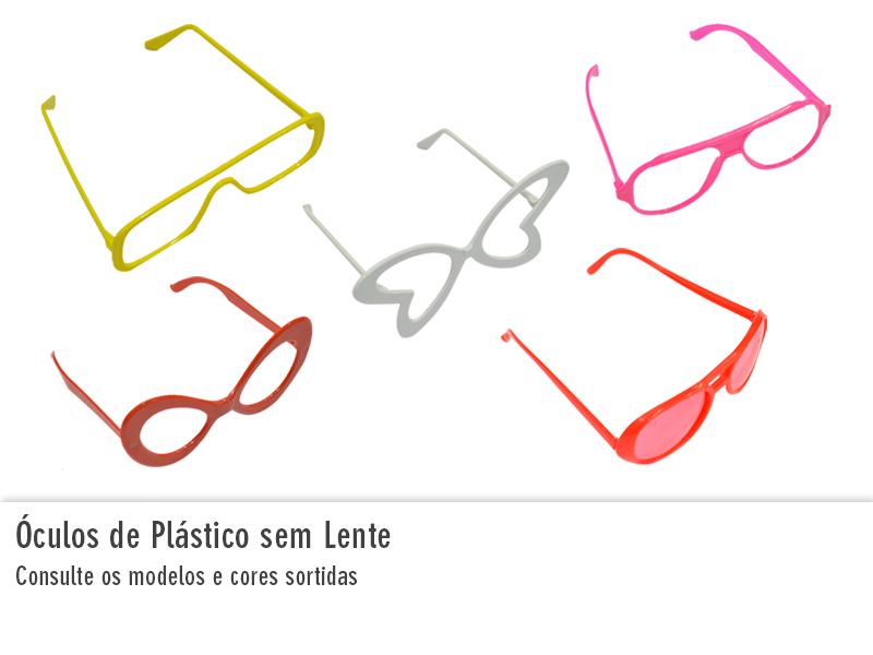 Óculos de Plástico sem Lente