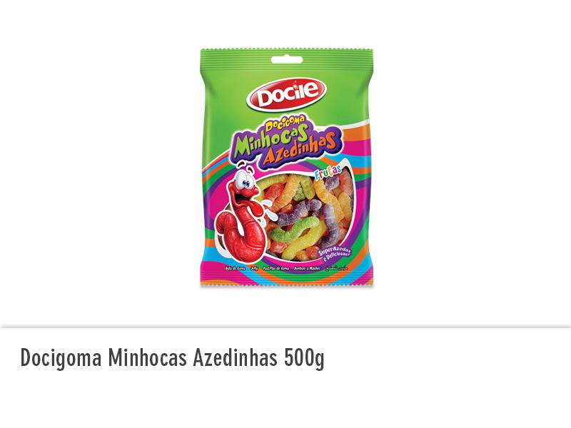 Docigoma Minhocas Azedinhas 500g