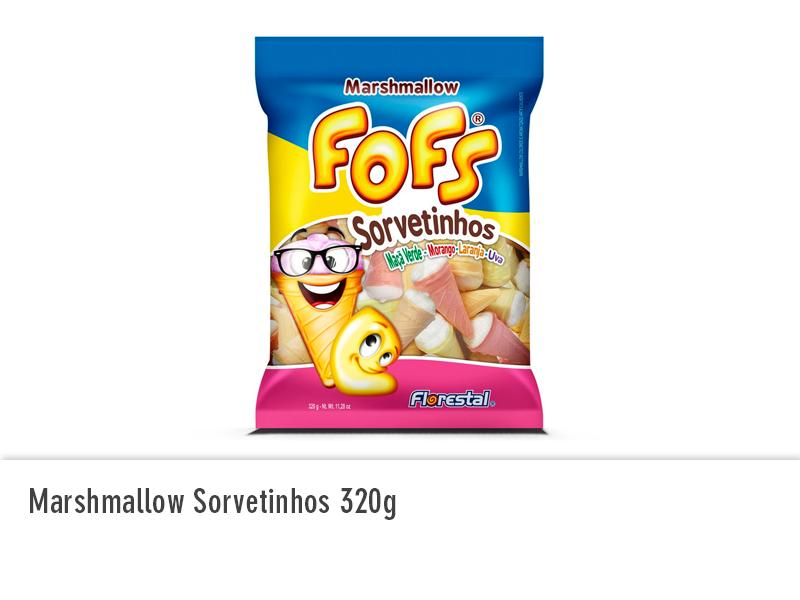 Marshmallow Sorvetinhos 320g