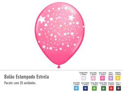 Balão Estampado Estrela