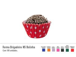 Forma Brigadeiro N5 Bolinha