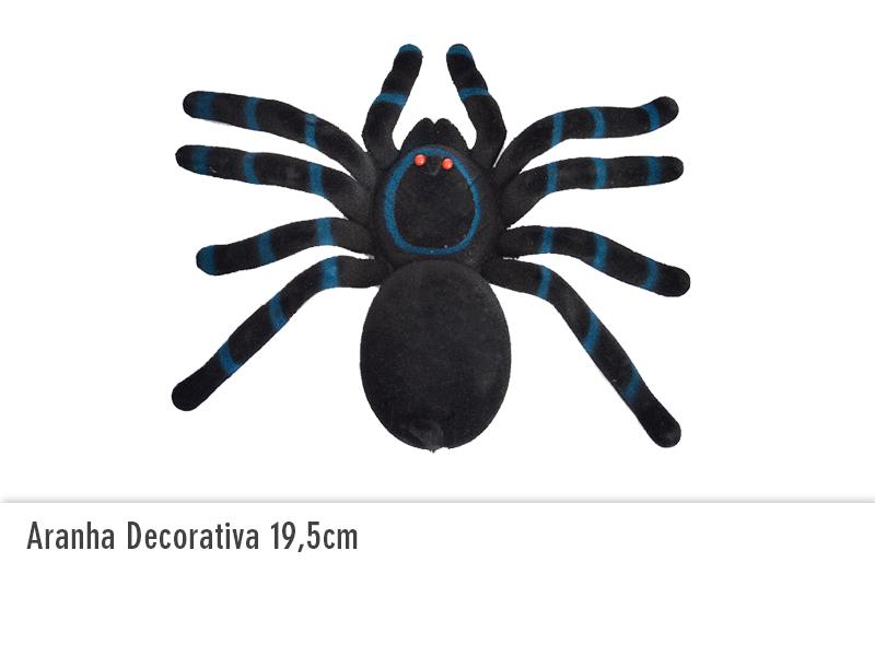 Aranha Decorativa 19,5cm