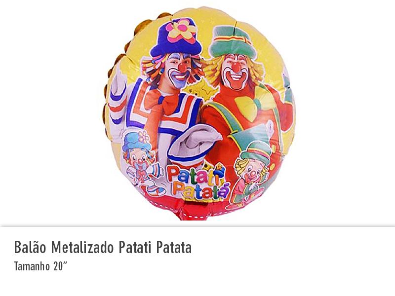 Balão Metalizado Patati Patata