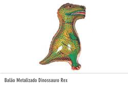 Balão Metalizado Dinossauro Rex