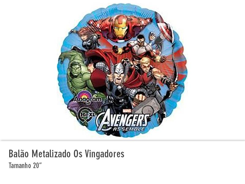 Balão Metalizado Os Vingadores