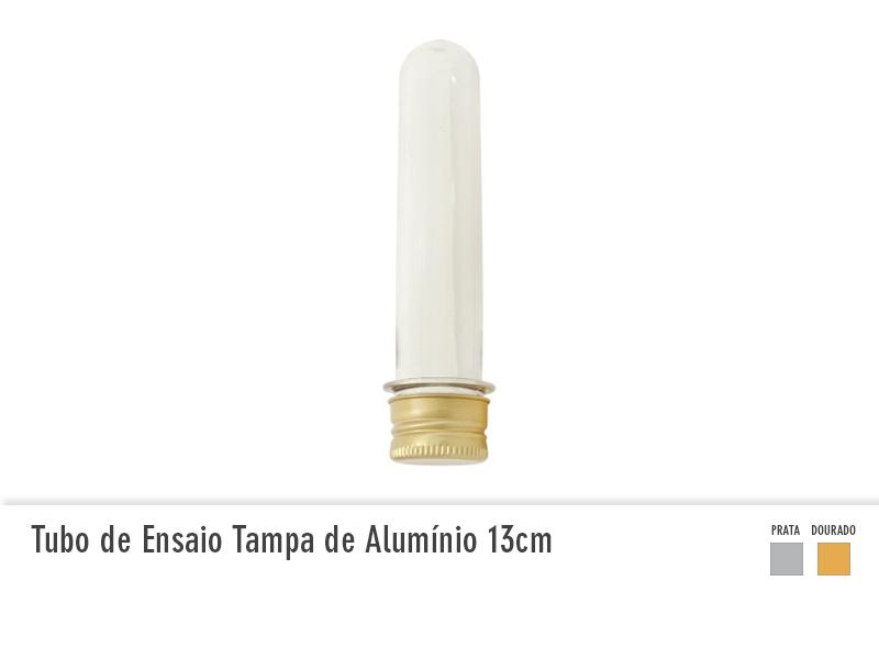 Tubo de Ensaio com Tampa de Alumínio