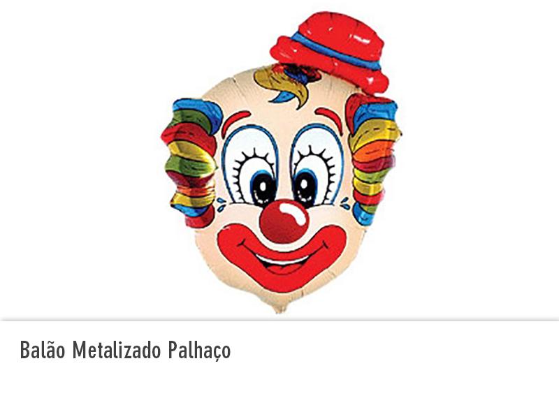 Balão Metalizado Palhaço