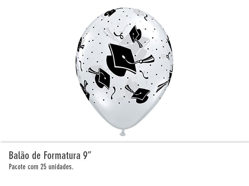 """Balão de Formatura 9"""""""